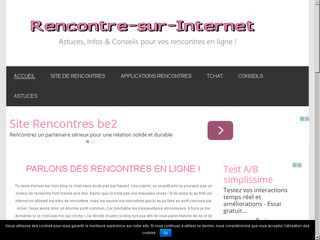 Blog rencontre internet