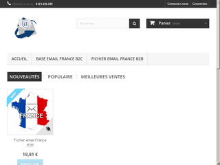 Acheter Base emails  France pour vos  campagnes mailing