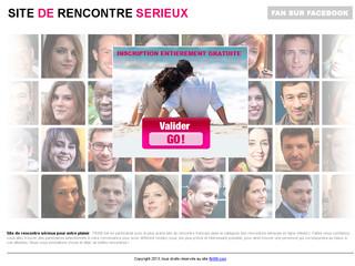 Site de rencontre pour célibataires sérieux en France